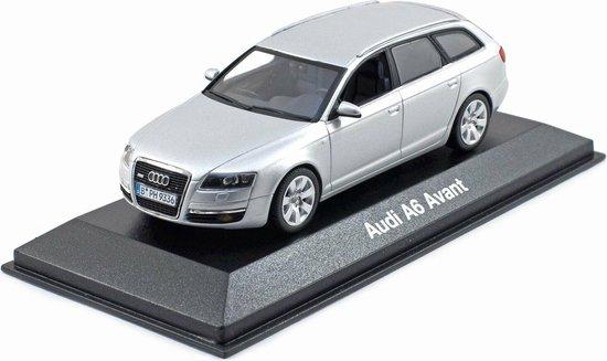 Audi A6 Avant Zilver 1-43 Minichamps
