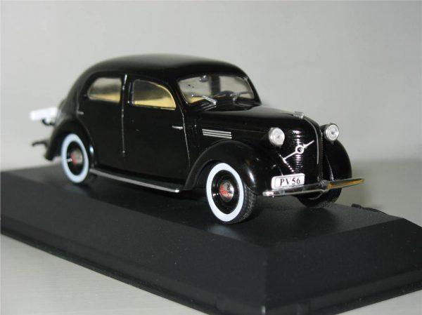 Volvo PV56 1938 Zwart 1-43 Atlas Volvo Collection