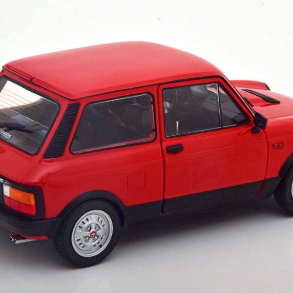 Fiat A112 Abarth 1984-1986 Rood 1-18 Solido
