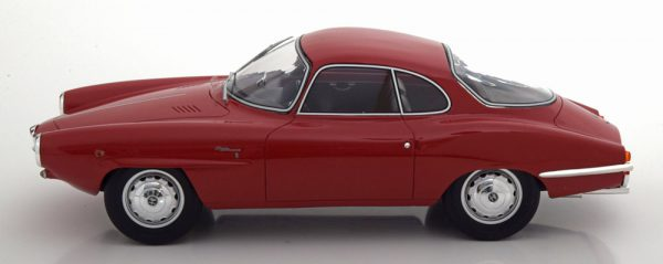 Alfa Romeo Giulietta SS 1961 Rood 1-18 BOS Models Limited 504 Pieces