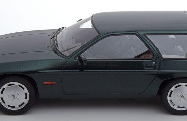 "Porsche 928 S Turbo 1979 ""Artz Kombi"" Donkergroen Metallic 1-18 PremiumX ( Resin )"