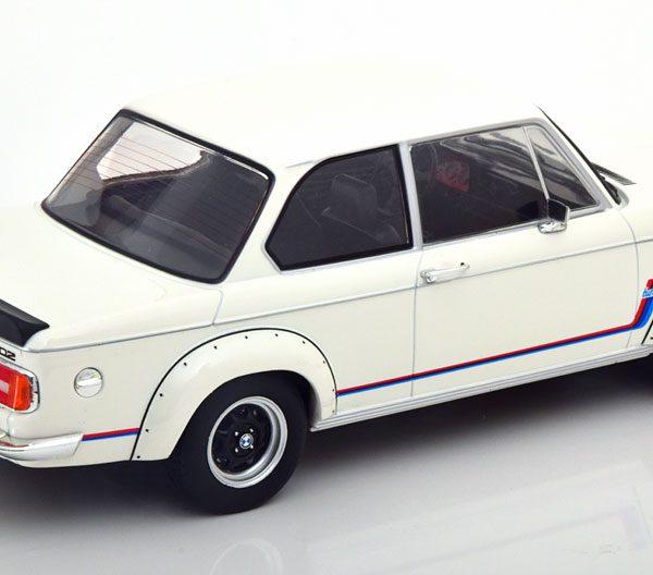 BMW 2002 Turbo 1973 Wit 1-18 MCG Models