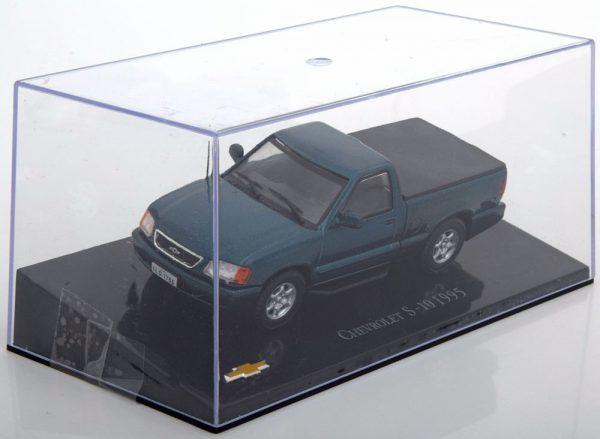 Chevrolet S-10 1995 Groen Metallic 1-43 Altaya