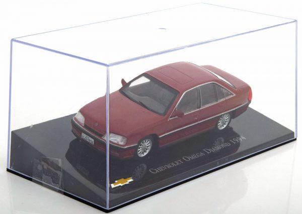 Chevrolet Omega Diamond 1994 Donkerrood 1-43 Altaya