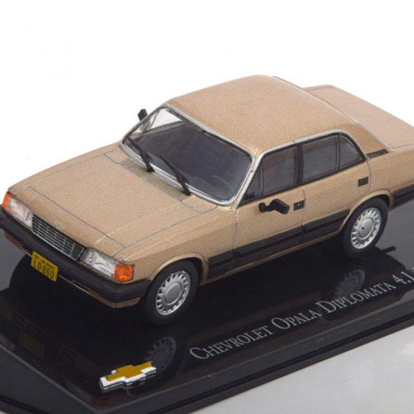 Chevrolet Opala Diplomata 4.1 1988 Goud Metallic 1-43 Altaya
