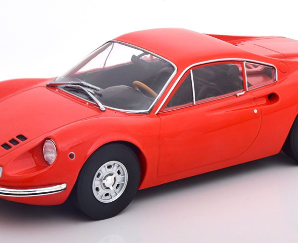 Ferrari 246 GT Dino 1969 Oranjerood 1-18 MCG Models