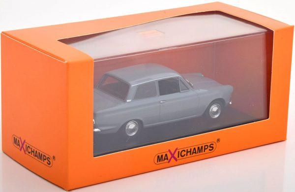Ford Cortina MK1 1962 Grijs 1-43 Maxichamps