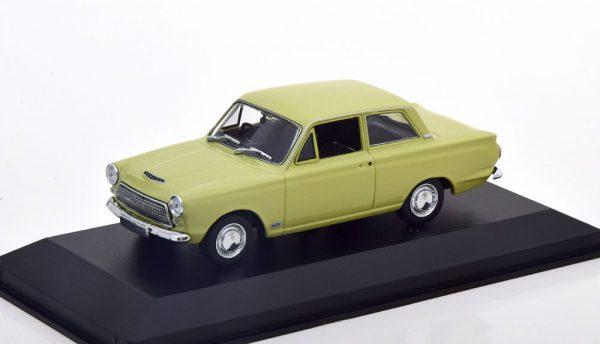 Ford Cortina MK1 1962 Lichtgroen 1-43 Maxichamps