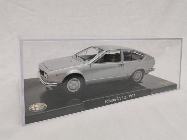 Alfa Romeo Alfetta GT 1.8 1974 Zilver 1-24 Altaya
