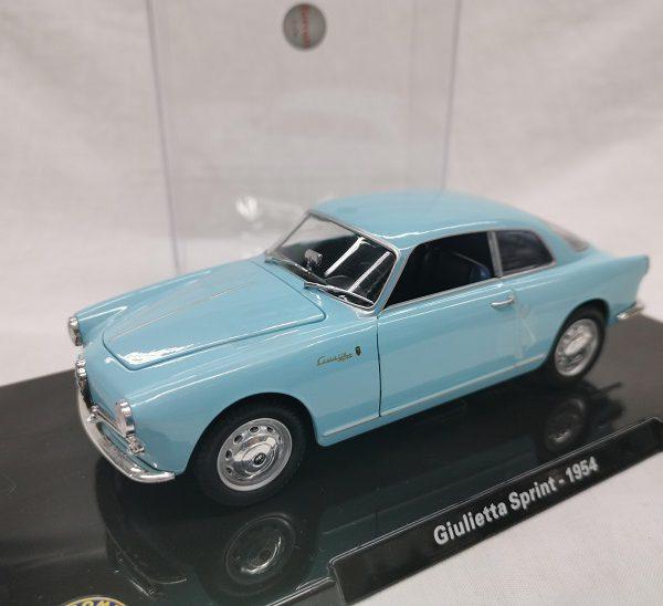 Alfa Romeo Giulietta Sprint 1954 Lichtblauw 1-24 Altaya