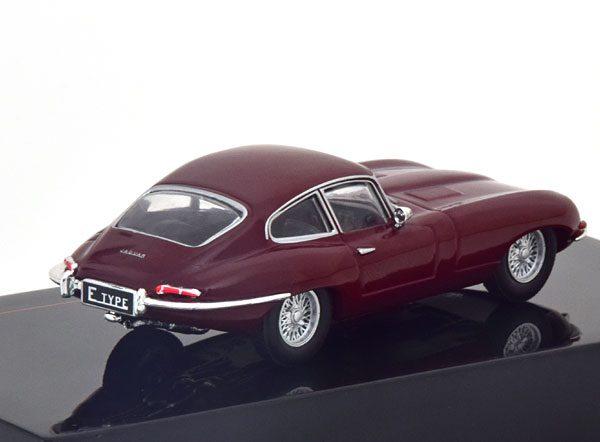 Jaguar E-Type 1963 Donkerrood 1-43 Ixo Models