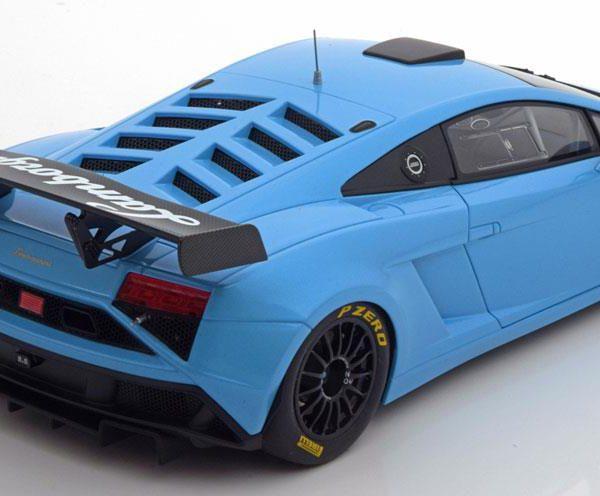 Lamborghini Gallardo GT3 FL2 2013 Blauw Metallic 1-18 Autoart ( with Opening Doors )