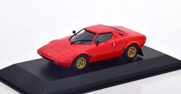 Lancia Stratos 1974 Rood 1-43 Maxichamps