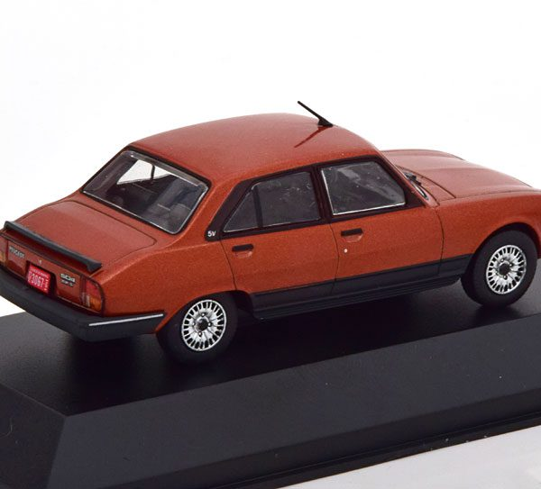Peugeot 504 GR TN Limousine 1985 Koper Metallic 1-43 Altaya