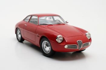 Alfa Romeo Giulietta Sprint Zagato 1961 Rood 1-18 Cult Scale Models