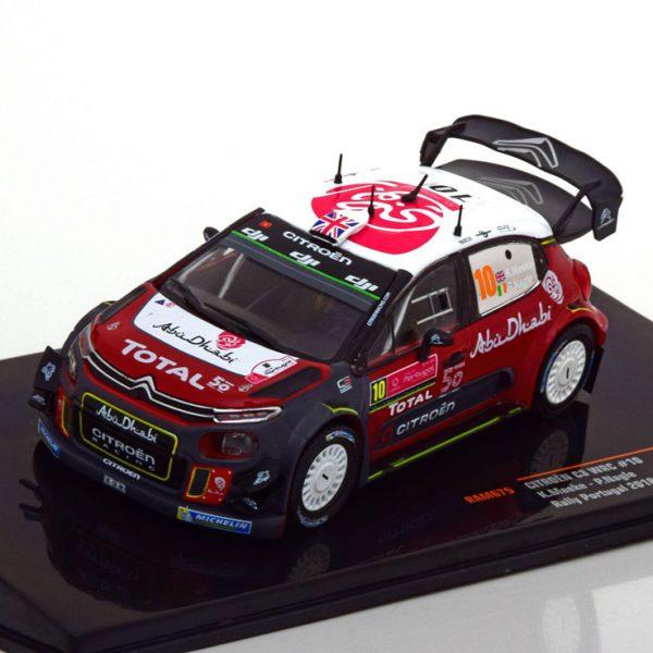 Citroen C3 WRC No.10, Rally Portugal 2018 Meeke/Nagle 1-43 Ixo Models
