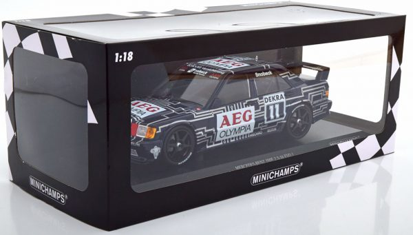Mercedes-Benz 190E 2.5-16 Evo 1 #11 DTM 1989 Dany Snobeck 1:18 Minichamps Limited 204 Pieces