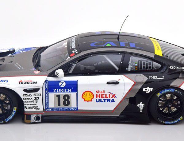 BMW M6 GT3 No.18, 24h Nürburgring 2006 Farfus/Krohn/Müller/Wittmann 1-18 Minichamps Limited 200 Pieces