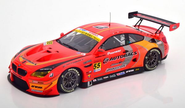 BMW M6 GT3 Autobacs Racing Team Aguri Super GT Series 2016 Takagi / Kobayashi 1-18 Minichamps Limited 300 Pieces