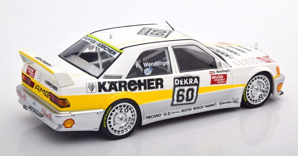 Mercedes-Benz 190E 2.5-16 Evo 1 #60 DTM 1990 Karl Wendlinger 1:18 Minichamps Limited 204 Pieces