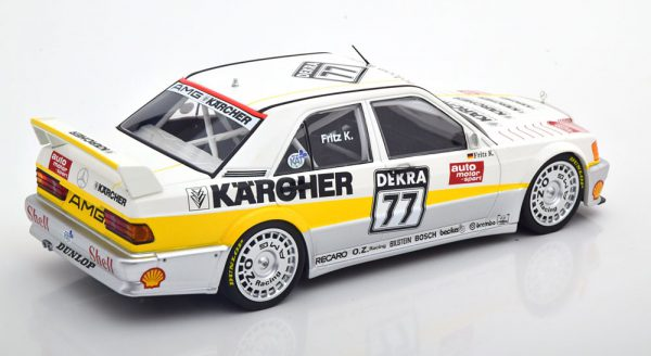 Mercedes-Benz 190E 2.5-16 Evo 1 # 77 Team AMG-Mercedes DTM 1990 Fritz Kreutzpointner 1-18 Minichamps Limited 204 Pieces