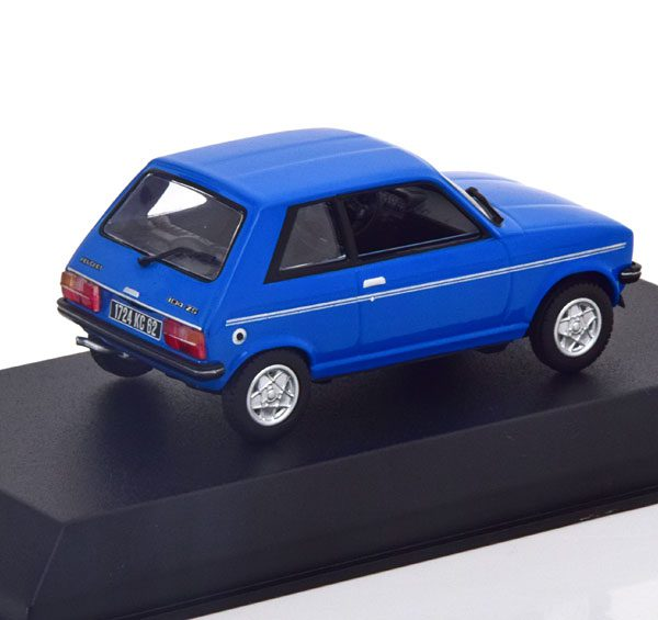 Peugeot 104 ZS 1979 Blauw 1-43 Norev