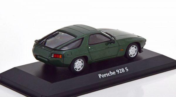 Porsche 928S 1979 Groen Metallic 1-43 Maxichamps