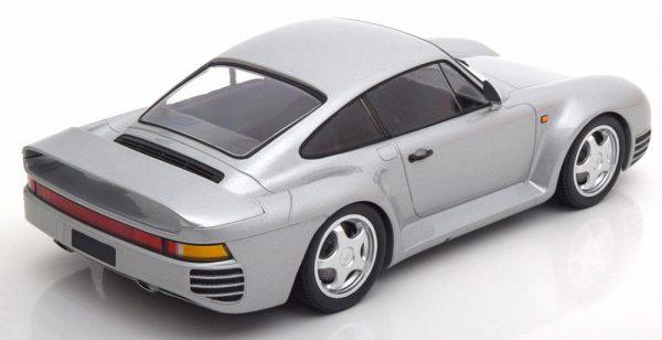 Porsche 959 1987 Zilver 1-18 Minichamps