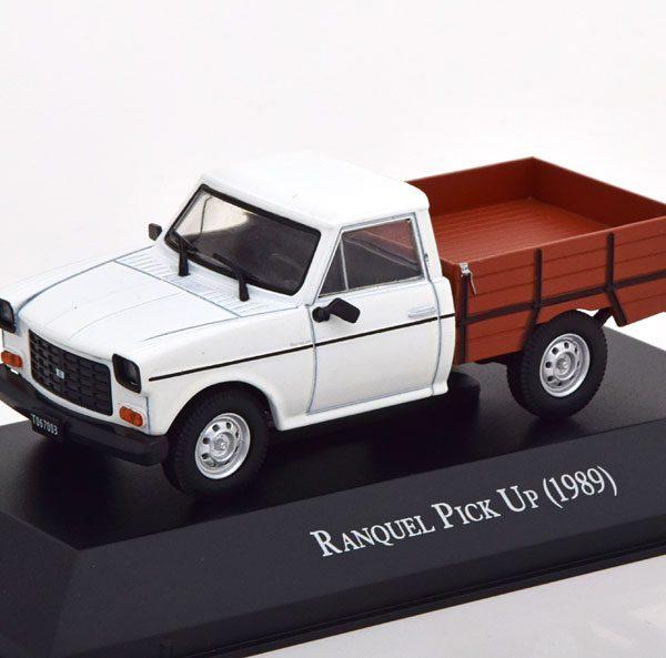 Ranquel Pick Up 1989 Wit / Bruin 1-43 Altaya