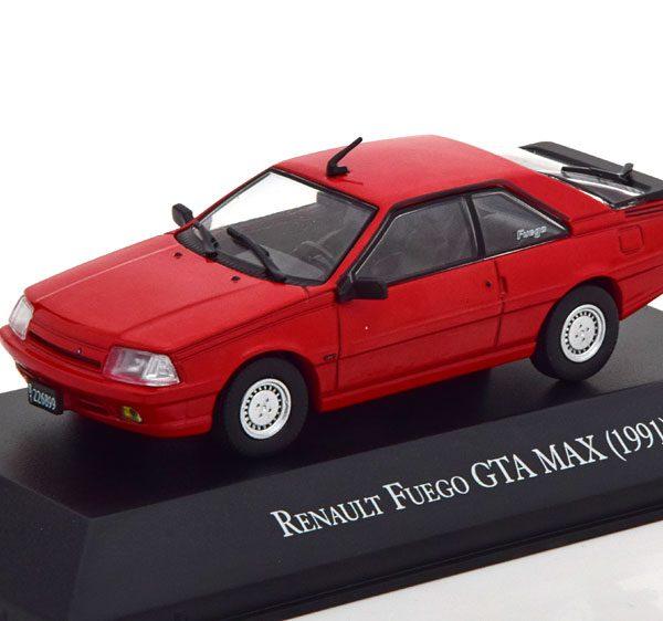 Renault Fuego GTA Max 1991 Rood 1-43 Altaya