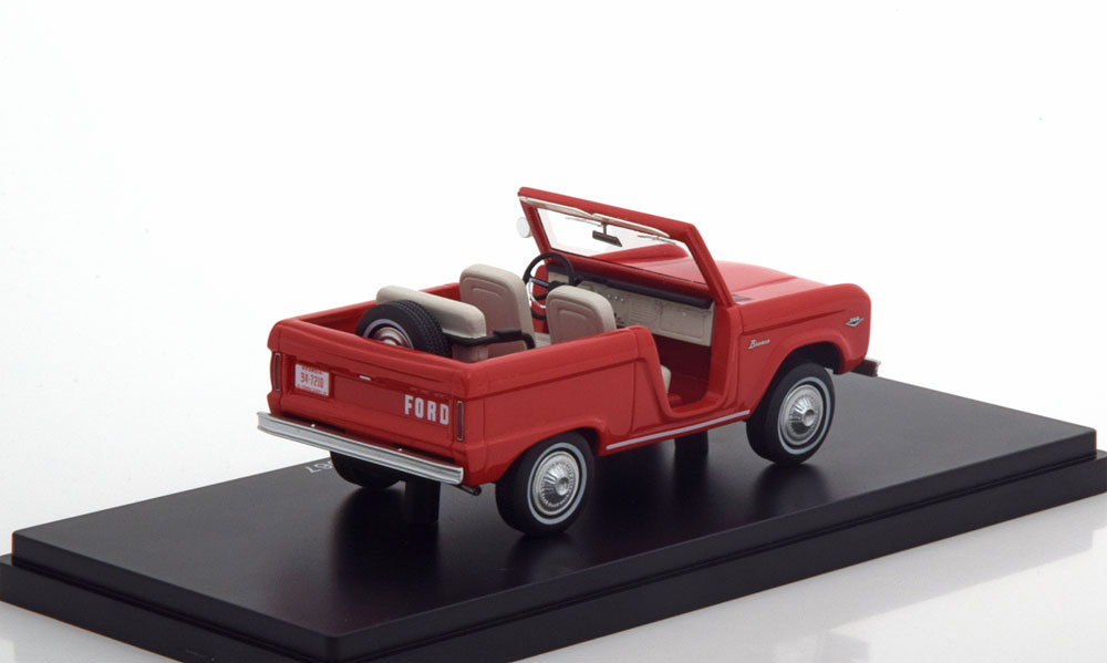 Ford Bronco Roadster 1967 Rood 1-43 Neo Scale Models