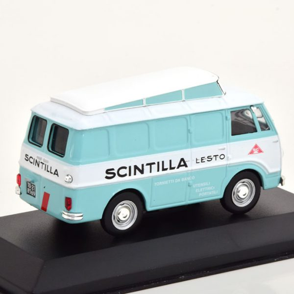 "Alfa Romeo Romeo 1956 ""Scintilla"" Wit / Lichtblauw 1-43 Altaya"
