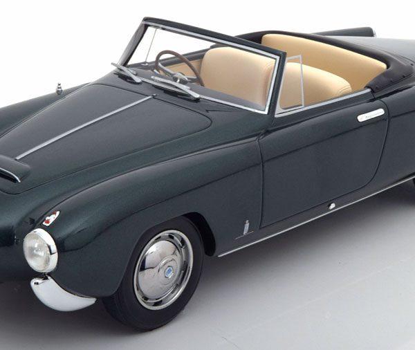 Lancia Aurelia PF200 C Spider 1953 Donkergroen Metallic 1-18 BOS Models Limited 1000 Pieces