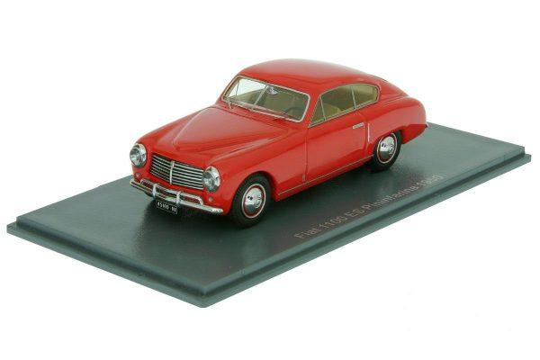 Fiat 1100 ES Pininfarina 1950 Rood 1-43 Neo Scale Models
