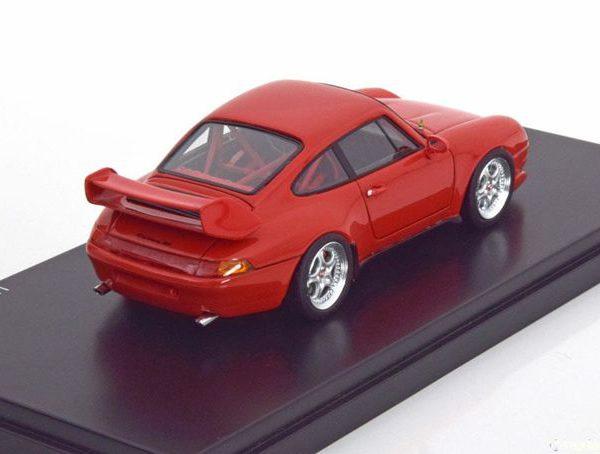 Porsche 911 ( 993 )Cup 3.8 Indischrot 1-43 Schuco Pro R Limited 500 Pieces