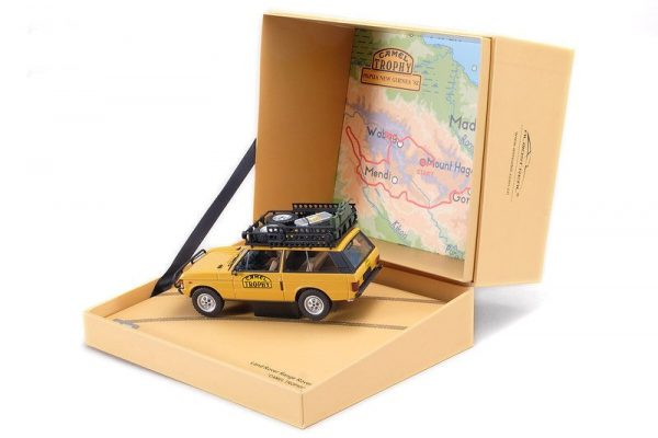 """Range Rover """"Camel Trophy"""" Papua New Guinea 1982 1/43 Almost Real"""
