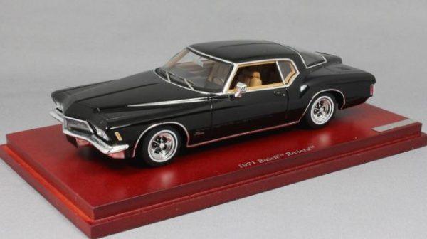 Buick Riviera 1971 Zwart 1-43 True Scale Models