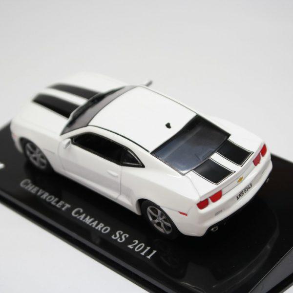 Chevrolet Camaro SS 2011 Wit / Zwart 1-43 Altaya