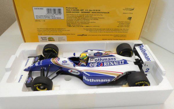 Williams Renault FW16 San Marino GP 1994 Ayrton Senna 1-18 Minichamps