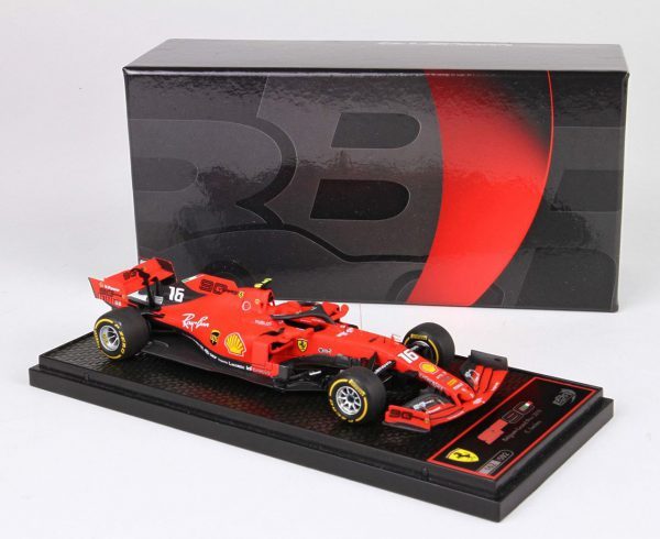 Ferrari SF90 Winner C.Leclerc GP Spa Francorchamps 2019 BBR Models 1-43 Limited 592 Pieces