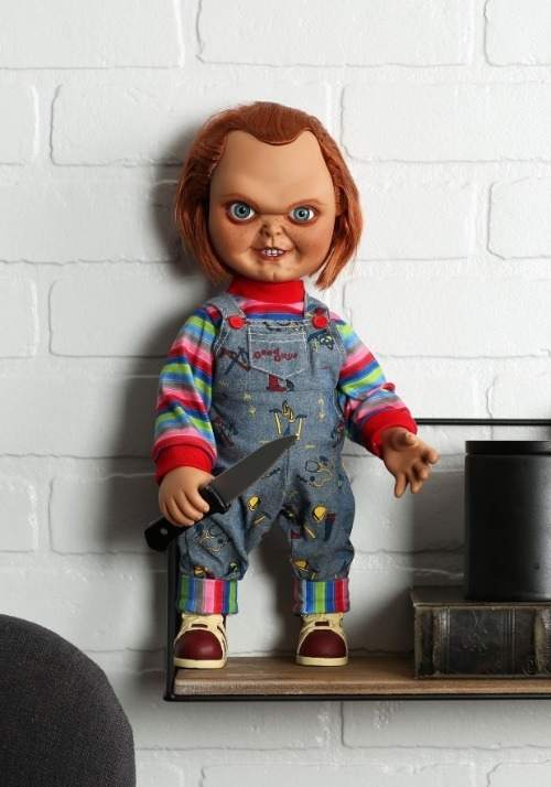 Chucky Child's Play 2 ( Without Scarves) 18 Inch Mezco Toys