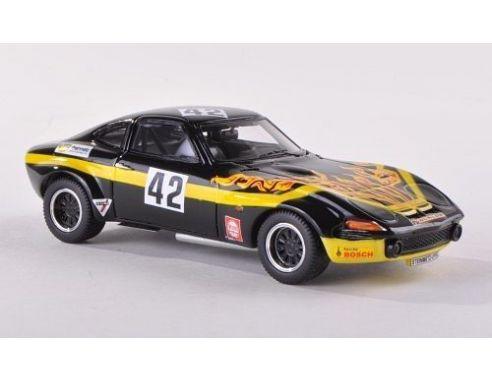 Opel GT Steinmetz Gr.4 No.42 Nürburgring GP 1971 Gerard Schüler 1-43 Zwart Neo Scale Models