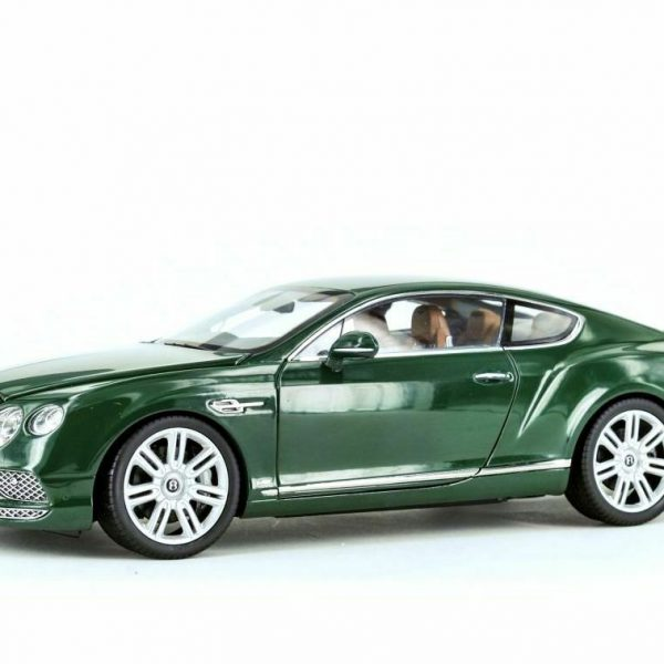 Bentley Continental GT Coupe 2016 Verdant Groen RHD 1-18 Paragon Models