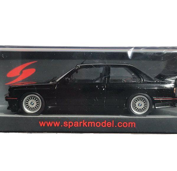 BMW M3 E30 Sport Evolution 1990 Black 1:43 Spark