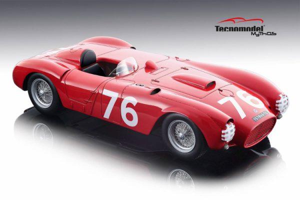 Lancia D24 Spyder 1954 Winner Targa Florio 1954 Car # 76 Pierre Taruffi Rood 1-18 Tecnomodel Limited 80 Pieces