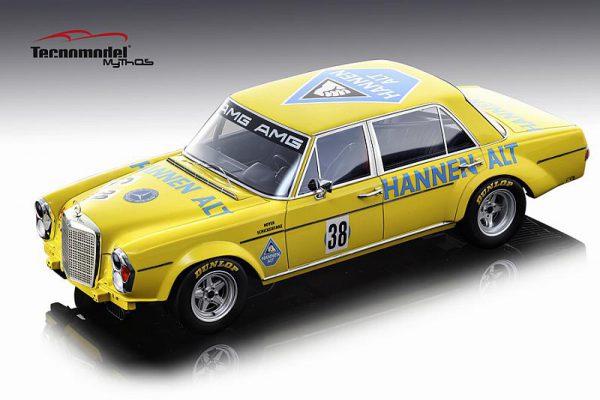 Mercedes-Benz 300 SEL 6.3 AMG #38 Hannen Alt Hockenheim Finale 1971 H.Heyer 1-18 Tecnomodel Mythos Serie Limited 80 Pieces