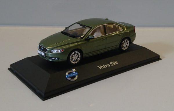 Volvo S80 Limousine 2012 Groen Metallic 1-43 Atlas Volvo Collection