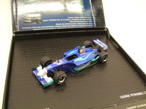 Sauber Petronas C21 F1 Team 2002 Drivers : Nick Heidfeld / Felipe Massa 1-43 Minichamps