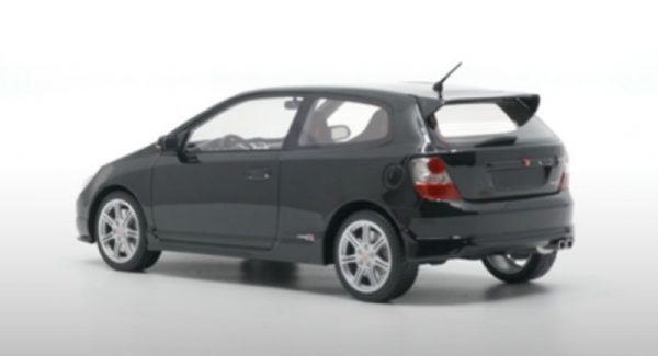 Honda Civic Type R ( EP 3 )2004 Zwart 1-18 DNA Collectibles - Limited 320 Pieces