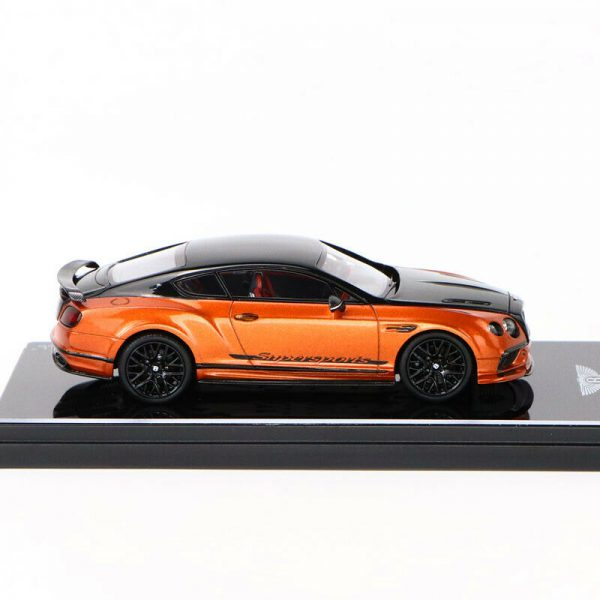 Bentley Continental Super Sports 2017 Onyx Over Orange Flame 1-43 True Scale Miniatures